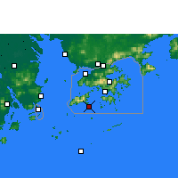 Nearby Forecast Locations - Cheung Chau - Carta
