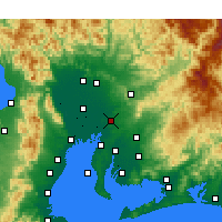 Nearby Forecast Locations - Nagoya - Carta