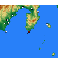 Nearby Forecast Locations - Irozaki - Carta