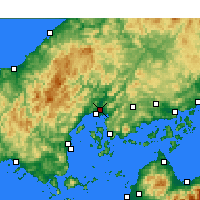 Nearby Forecast Locations - Hiroshima - Carta
