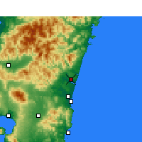 Nearby Forecast Locations - Nyutabaru - Carta