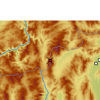 Nearby Forecast Locations - Doi Ang Khang - Carta
