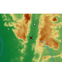 Nearby Forecast Locations - Phetchabun - Carta