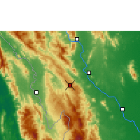 Nearby Forecast Locations - Doi Mu Soe Agromet - Carta