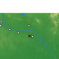 Nearby Forecast Locations - Roi Et - Carta