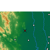 Nearby Forecast Locations - U Thong Agromet - Carta