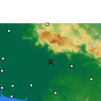 Nearby Forecast Locations - Prachinburi - Carta