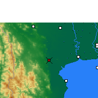 Nearby Forecast Locations - Ratchaburi - Carta
