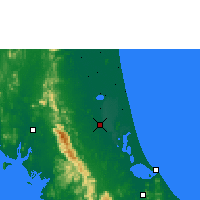 Nearby Forecast Locations - Phatthalung - Carta