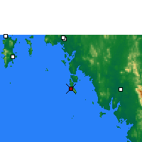 Nearby Forecast Locations - Ko Lanta - Carta