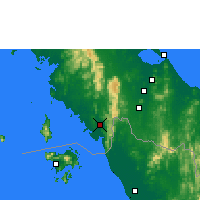 Nearby Forecast Locations - Satun - Carta