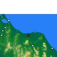 Nearby Forecast Locations - Pattani - Carta