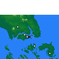 Nearby Forecast Locations - Singapore - Carta