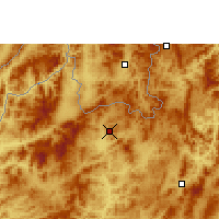 Nearby Forecast Locations - Luang Namtha - Carta