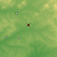 Nearby Forecast Locations - Bei'an - Carta