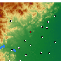 Nearby Forecast Locations - Quyang - Carta