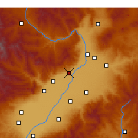 Nearby Forecast Locations - Qingxu - Carta