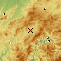 Nearby Forecast Locations - Hunjiang - Carta