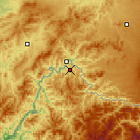 Nearby Forecast Locations - Linjiang - Carta