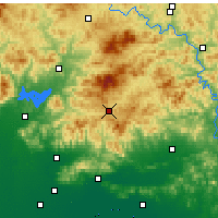 Nearby Forecast Locations - Xinglong - Carta