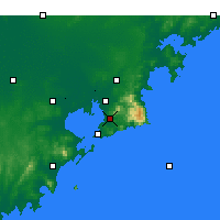 Nearby Forecast Locations - Laoshan - Carta