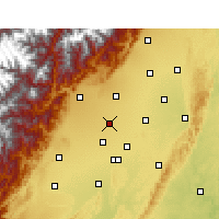 Nearby Forecast Locations - Pi Xian/SCH - Carta