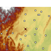 Nearby Forecast Locations - Pujiang/SCH - Carta