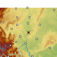 Nearby Forecast Locations - Qingshen - Carta