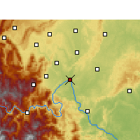 Nearby Forecast Locations - Leshan - Carta