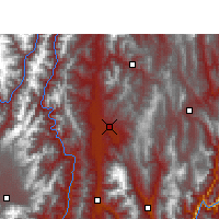 Nearby Forecast Locations - Xichang - Carta