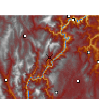 Nearby Forecast Locations - Jinyang - Carta