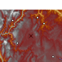 Nearby Forecast Locations - Zhaotong - Carta