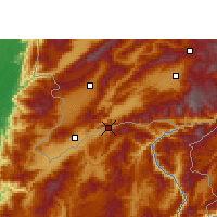 Nearby Forecast Locations - Wantingzhen - Carta