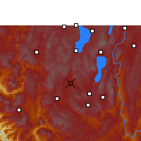 Nearby Forecast Locations - Yuxi - Carta