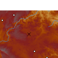 Nearby Forecast Locations - Qiubei - Carta