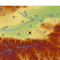 Nearby Forecast Locations - Chang'an - Carta