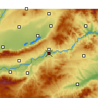 Nearby Forecast Locations - Sanmenxia - Carta