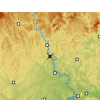 Nearby Forecast Locations - Langzhong - Carta
