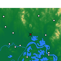 Nearby Forecast Locations - Huangpi - Carta