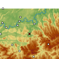 Nearby Forecast Locations - Chishui - Carta