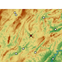 Nearby Forecast Locations - Yongshun - Carta