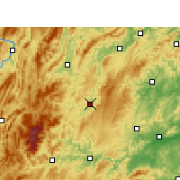 Nearby Forecast Locations - Songtao - Carta