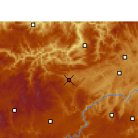 Nearby Forecast Locations - Jinsha - Carta