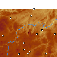 Nearby Forecast Locations - Xifeng/GZH - Carta