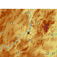 Nearby Forecast Locations - Kuangtou - Carta