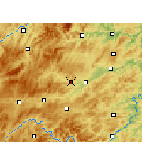 Nearby Forecast Locations - Cengong - Carta