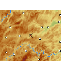 Nearby Forecast Locations - Zhenyuan/GZH - Carta