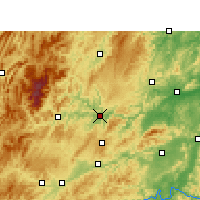 Nearby Forecast Locations - Tongren - Carta