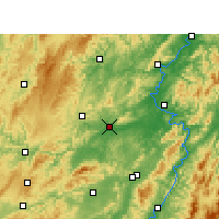 Nearby Forecast Locations - Mayang - Carta