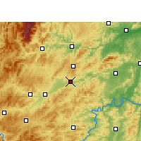 Nearby Forecast Locations - Xinhuang - Carta